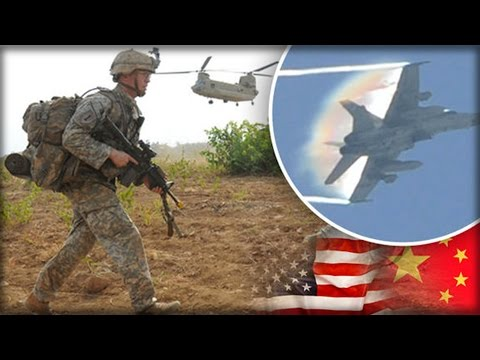 SHOCK REPORT: US AND CHINA ARMIES ARE PLANNING FOR WAR WHICH COULD PLUNGE WORLD INTO CHAOS