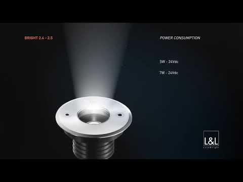 Luce&Light Bright 2.4 / 2.5 LED-Einbaustrahler