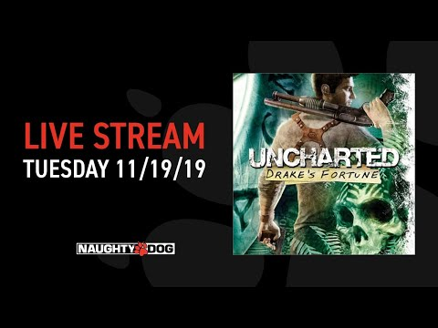 Uncharted: Drake's Fortune 12th Anniversary Live Stream