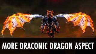 Skyrim Mod: More Draconic Dragon Aspect
