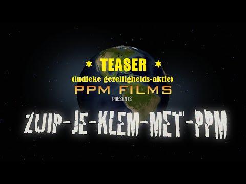 Teaser: Zuip je klem met PPM...