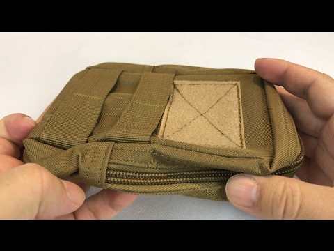 Compact Water-resistant Tactical Waist EDC Bag Pouch by Enjoydeal review