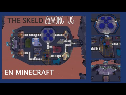 The Skeld From Among Us In Real Scale Minecraft Map