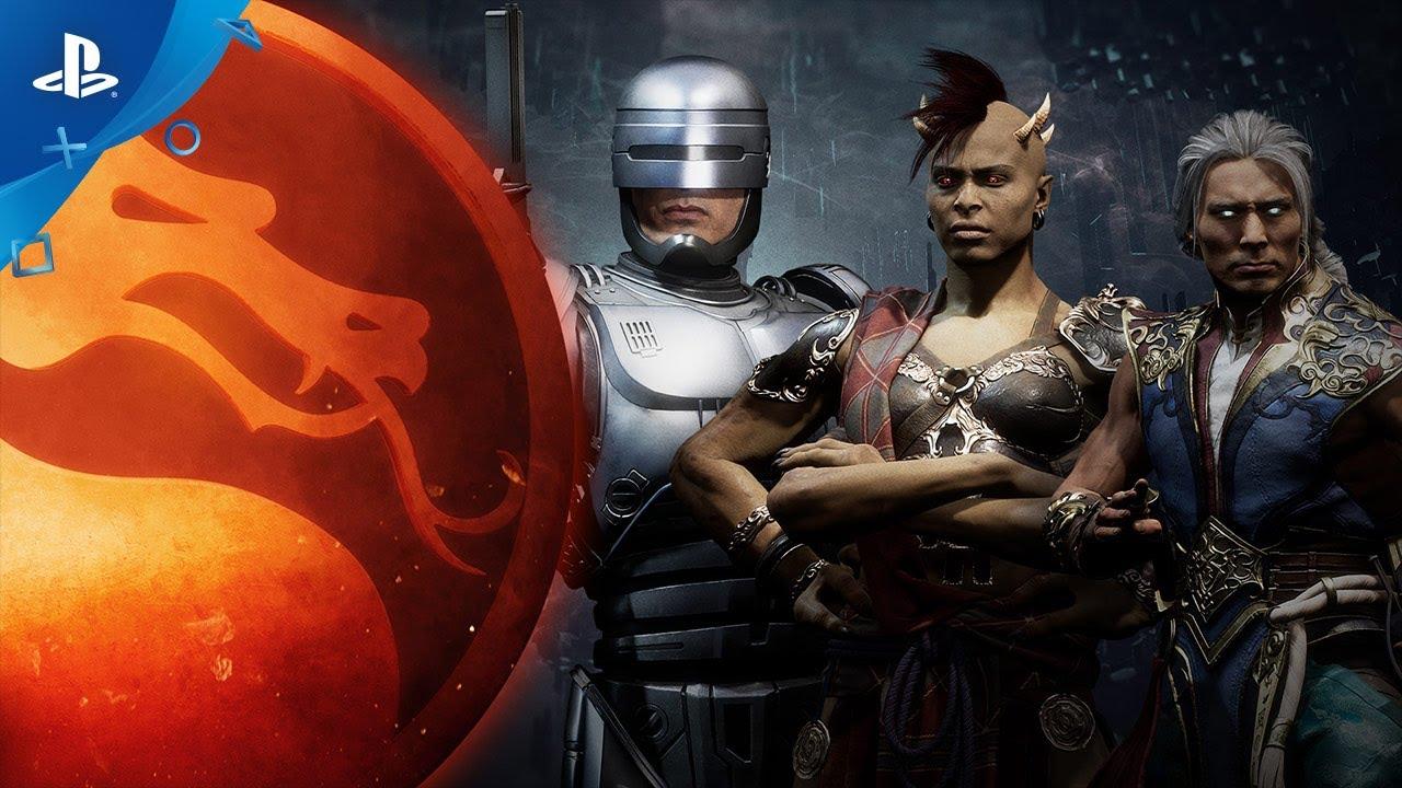 Mortal Kombat 11: Aftermath – Gameplay de RoboCop Revelado