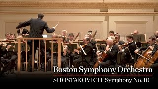 Boston Symphony Orchestra: Shostakovich Symphony No. 10 (Excerpt)