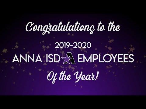 Anna ISD 2020 Employees & Teachers of the Year