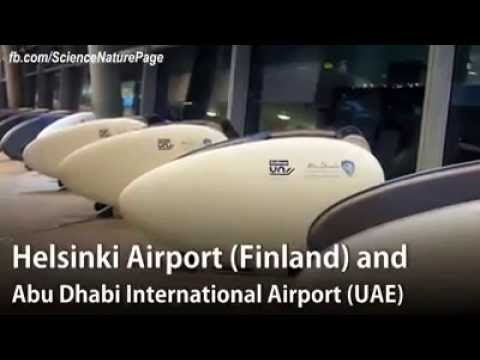 Airport Sleeping Pods