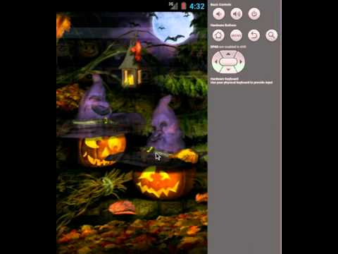 Video of ADW Launcher Theme Halloween