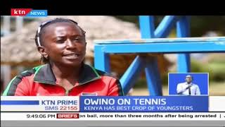 Tennis Coach Rose Owino crowed Coach of the Year