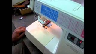 HZL7000シリーズ 革縫い動画 わくわくミシン工房