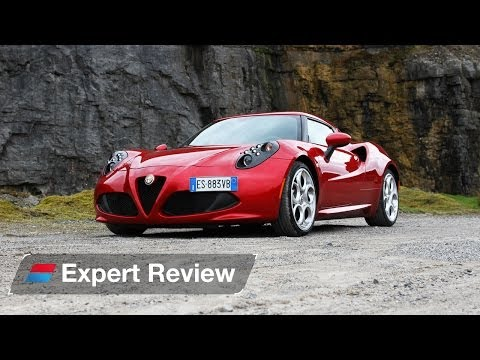 Alfa Romeo 4C coupe expert car review