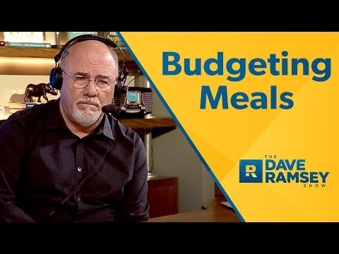 How To Budget For Meals For Work?
