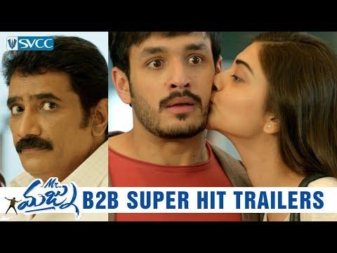 Mr Majnu Back to Back Super Hit Trailers | Akhil | Nidhhi Agerwal | Thaman S | Venky Atluri | SVCC