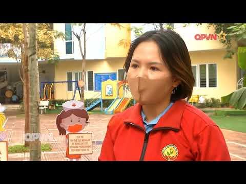 Trường mầm non Thịnh Liệt với công tác vệ sinh, khử khuẩn chuẩn bị đón học sinh trở lại trường sau thời gian tạm đừng đến trường