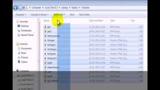 PHP TUTORIALS-Create Login Page with Database using PhpMyAdmin-Mysql part1