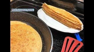НЕЖНЫЕ, ТВОРОЖНЫЕ БЛИНЧИКИ. Такой Завтрак Всем Понравится! Самый простой рецепт.