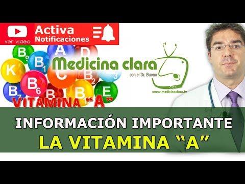 Qué Es La Vitamina A y Para Qué Sirve