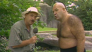 """George """"The Animal"""" Steele visits the Detroit Zoo: Saturday Night"""