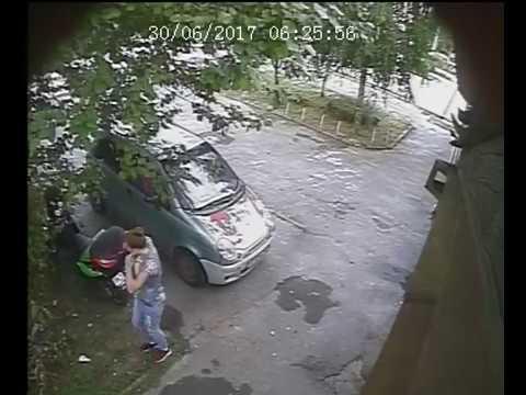 Пьяная угонщица из Ростова-на-Дону