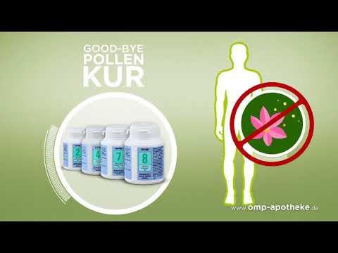 Schüssler Salze Good-Bye-Pollen-Kur - Pollenallergie & Heuschnupfen adé