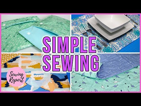One Simple Technique = Countless Easy Sewing Projects | BEGINNER FRIENDLY | SEWING REPORT