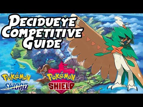 Decidueye VGC & Singles Competitive Guide | Pokemon Sword and Shield Competitive Guide