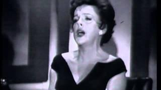 """Judy Garland sings """"Little Drops Of Rain"""" on Jack Paar 1962"""