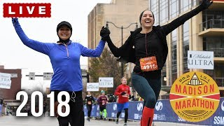 2018 Madison Marathon Finish line livestream