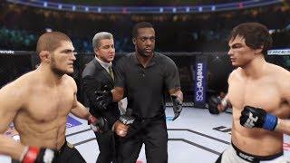Khabib vs. Aubin-Mercier (EA Sports UFC 2) - Champion Fight ☝️🦅