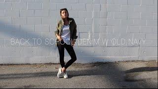 back to school denim w/ old navy! | shygirl