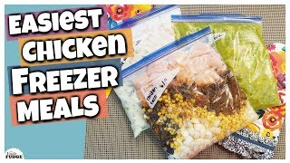 3 Easy & Delicious Chicken Freezer Meals For The Slow Cooker || Six Sisters Stuff Collab