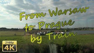 From Warsaw to Prague by Train - Poland/Czech Republik 4K Travel Channel