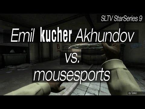 HR kucher vs mouze: 'B' defence // SLTV StarSeries 9