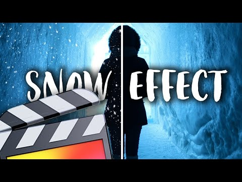 Realistic Snow Effect – Final Cut Pro X Tutorial
