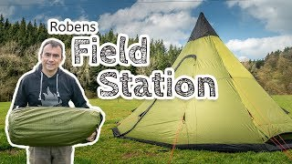 Robens Field Station Tipi Tent Review