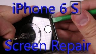 Apple iPhone 6S Screen Replacement shown in 5 minutes