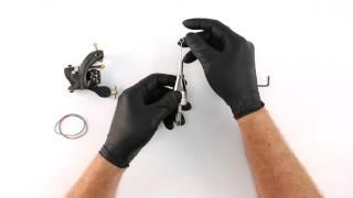 Tattoo Machine Setup - Needle and Tube