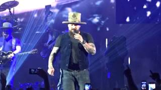 """Zac Brown Band - """"Rocky Mountain High"""" / """"Colder Weather"""" Denver, Colorado  July 29th 2017"""