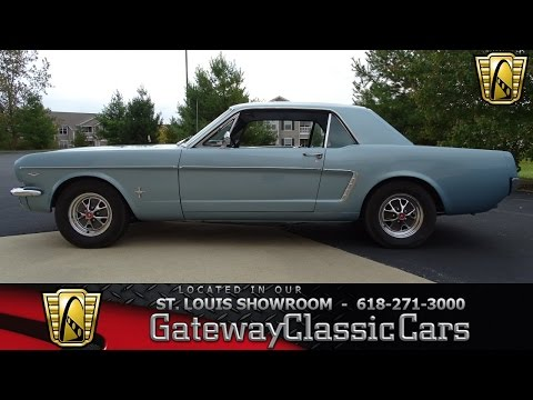 Video of 1965 Mustang located in Illinois - $16,995.00 Offered by Gateway Classic Cars - St. Louis - KDUO