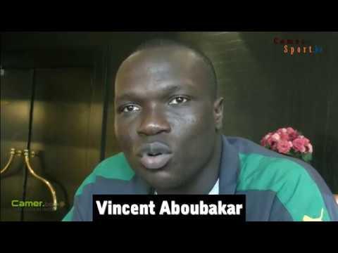 Vincent Aboubacar au micro de camer-sport.be