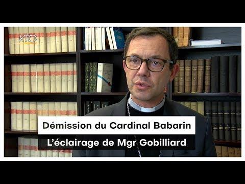 Démission du cardinal Barbarin : l'éclairage de Mgr Gobilliard