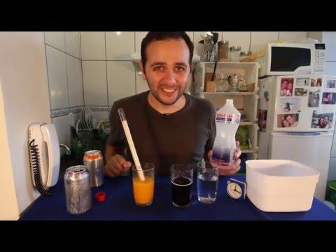 Aprenda a gelar latas de refrigerante em apenas 3 minutos!