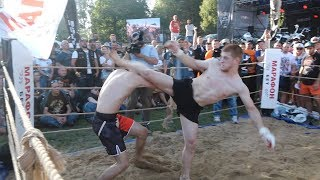 WUSHU MASTER vs Airborne Forces, Gangster and MMA !!! Tag team 2 vs 3 !!!