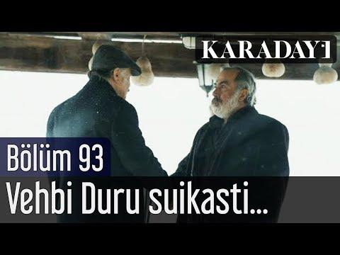 Karadayı 93 Bölüm | Vehbi Duru suikasti Mahir'le Feride'de şok