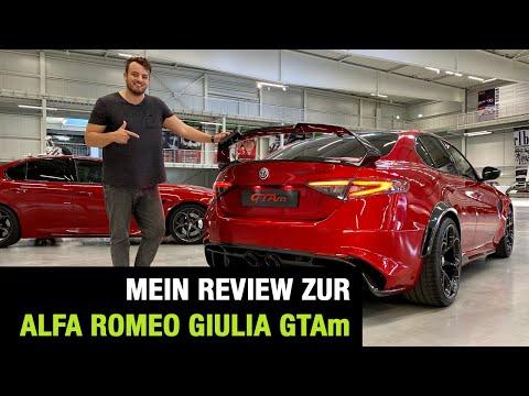 2020 Alfa Romeo Giulia GTAm (540 PS) ♥️☘️🇮🇹 Bestes Geschenk ever? Review   Test   Sound   GTA 🏁