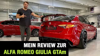 2020 Alfa Romeo Giulia GTAm (540 PS) ♥️☘️🇮🇹 Bestes Geschenk Ever? Review | Test | Sound | GTA 🏁