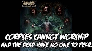 INGESTED - Narcissistic Apathy (With lyrics)