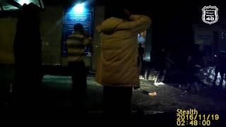 Массовая драка возле клуба на пл.Победы сегодня ночью  2016 11 19