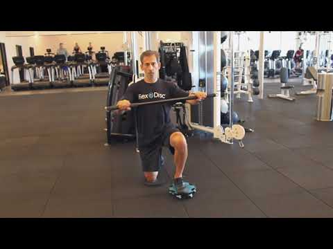 Half Kneeling Asymmetrical Cable Chest Press