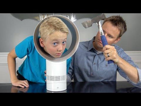 Whats inside a BLADELESS Fan?
